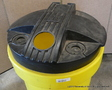 #712798 - Yellow Poly Used Motor Oil collection barrel