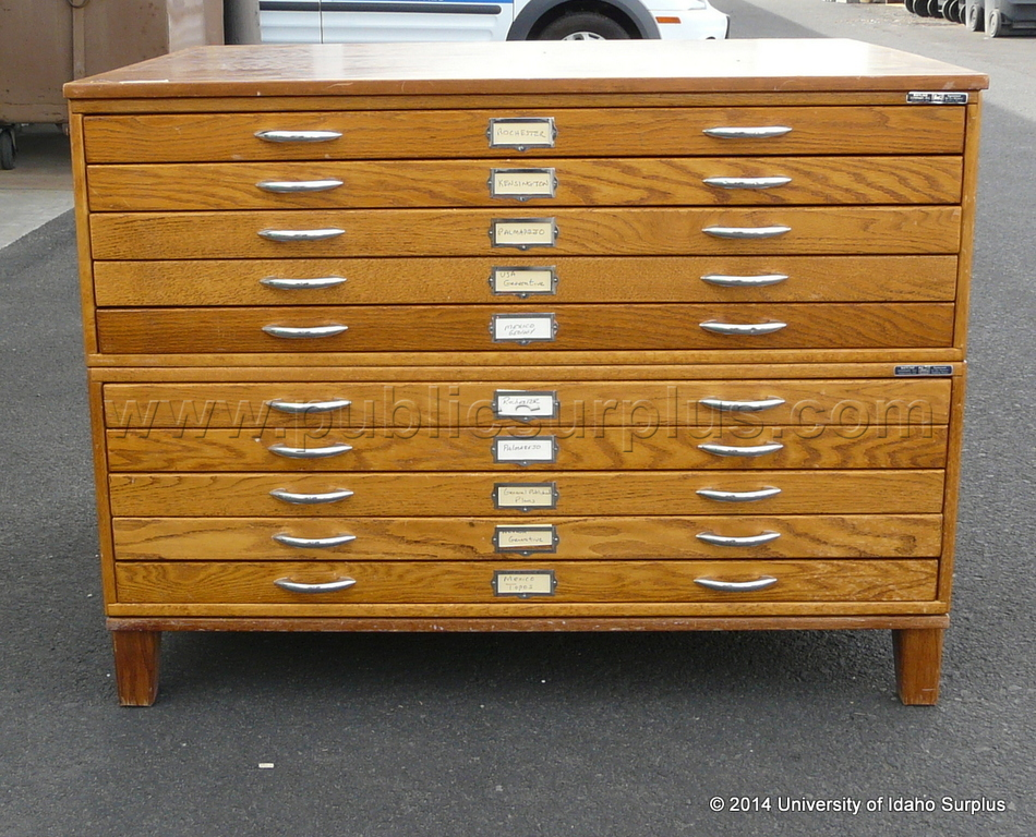 Map cabinet wood nagpurentrepreneurs public surplus auction 1227669 malvernweather Gallery
