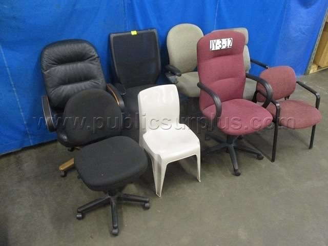 #2165484 - ASSORTED CHAIRS (8 TOTAL) ~ JY-3-12