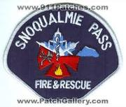 Snoqualmie Pass - Fire & Rescue
